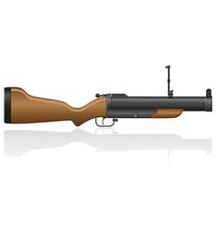 grenade gun 02 vector image