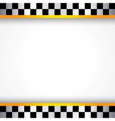 Race background square vector image vector image