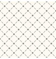 seamless winter retro pattern vector image vector image
