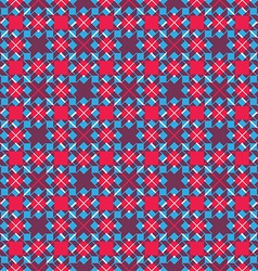 Bright stylized symmetric endless pattern vector image vector image
