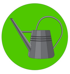 a watering can vector image