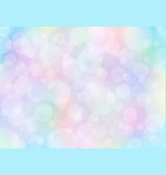 Abstract colorful blurred background with bokeh vector