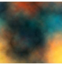 Colorful dark smoke vector