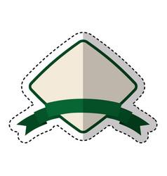 Frame elegant isolated icon vector
