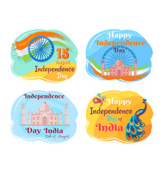 Independence day of india vector