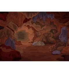 Magic Cave vector image