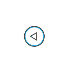 restart icon design essential icon vector image