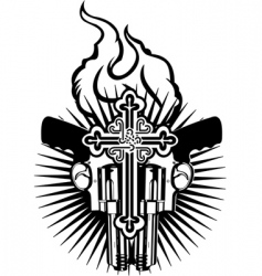tattoo emblem vector image