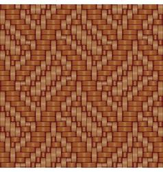 basket ornament texture vector image