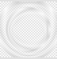 Grey abstract transparent circle background vector