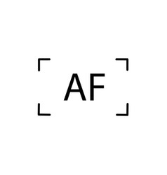 Auto focus icon vector
