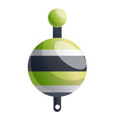 bobber icon cartoon style vector image
