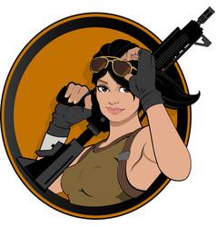 Gaming fort ramerios guns vector