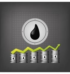 Oil and petroleum industry vector image