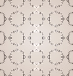 seamless vintage background Calligraphic ornament vector image