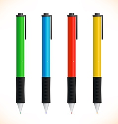 Set of pens vector