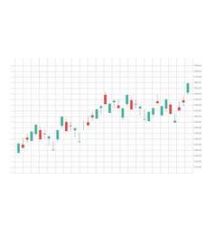 Stock market forex trading graph futuristic smart vector