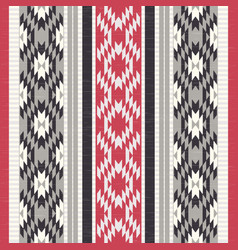 textile ornamental pattern vector image