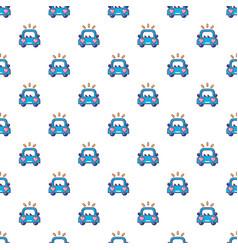 wedding car pattern seamless vector image