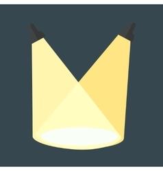 scene light vector image