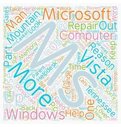 What Is Dow Theory text background wordcloud vector image