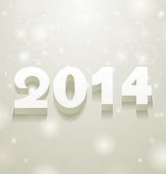 gray and white spots background 2014 vector image vector image