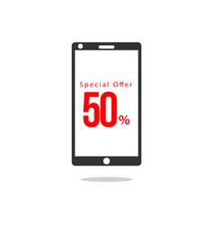 50 special offer template design vector