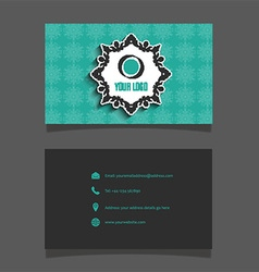 Business card layout 0102 vector