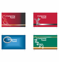 Business cards 8 vector