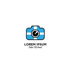 Camera logo icon vector