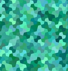 Green mosaic pattern background design vector