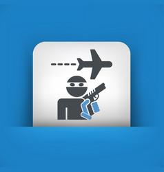 Hijacking aerial vector