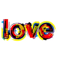 love vector image