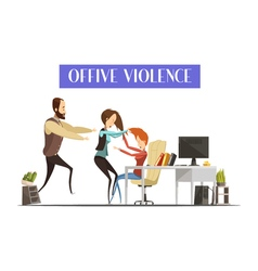 Office Violence vector