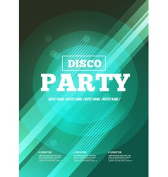 Party Flyer Club music flyer DJ lineup design vector