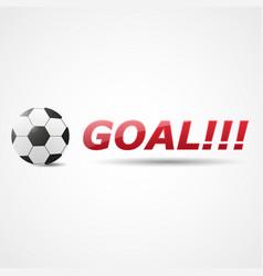 Resultative shot into goal vector