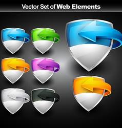 web display element vector image