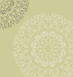 Intricate elements vector