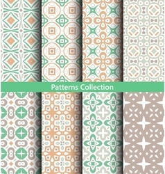 Patterns Pastel Green vector image vector image