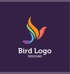 Bird logo ilustrator vector