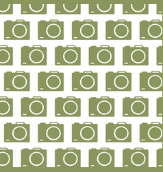 camera pattern background vector image