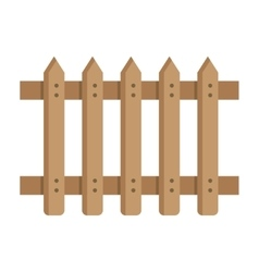 Fence in modern style vector image