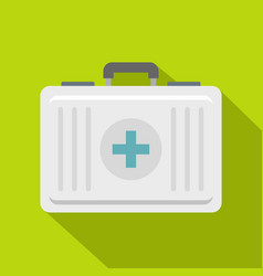 First aid icon flat style vector