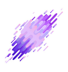 Glitched ultra violet abstract stripes and shapes vector