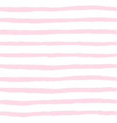 Tile pattern pink and white stripes background vector