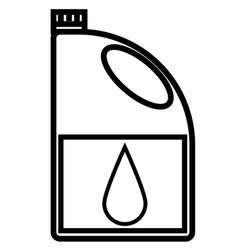 engine oil icon vector image vector image
