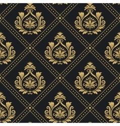 Victorian regal pattern seamless baroque vector image vector image