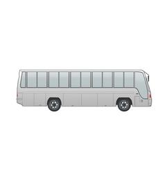 Coach bus vector