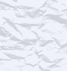 Grunge crumpled paper texture vector image