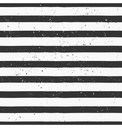 hand drawn black and white stripe seamless pattern vector image vector image